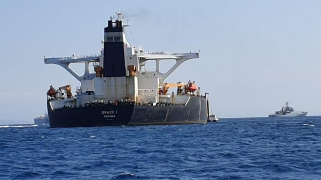 British Special Forces Detain Oil Tanker for Breaching Syria Sanctions